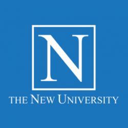 The New University logo